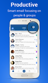 Blue Mail - Email Exchange