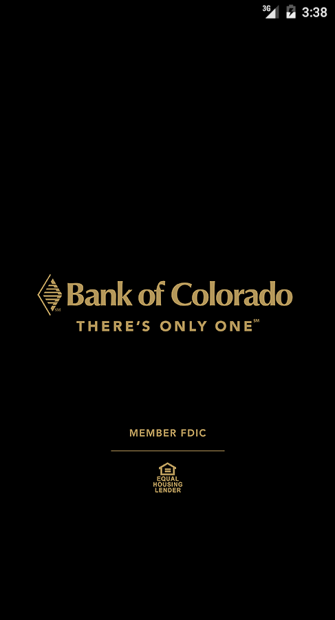 Bank of Colorado- screenshot