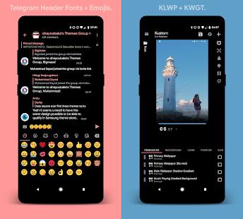[Substratum] yoru. for Samsung Oreo (DONATE) Screenshot