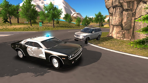 Police Car Driving Offroad 2 screenshots 6