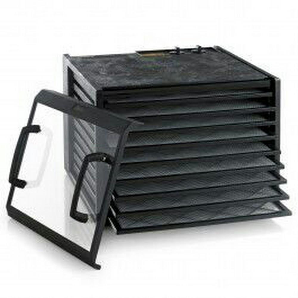 Excalibur 食物風乾機 9層黑門十透明門套裝