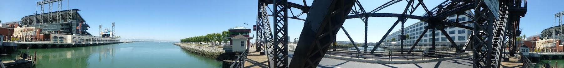 Photo: Panorama from Third St Bridge