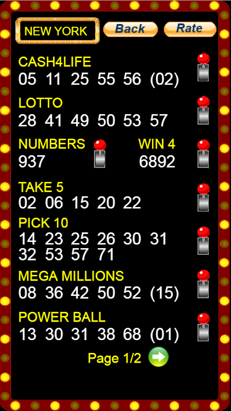 Lotto Number Generator by Nature Droid APK Latest Version
