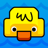 Swimming Duck - Pop Pong Game