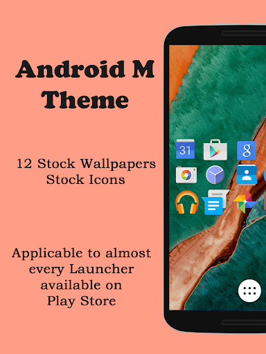 M Launcher Theme Icons Pack
