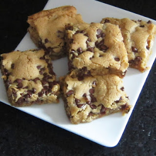 Brown Sugar Chocolate Chip Pecan Cookie Bars