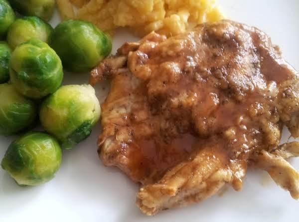 Honey Barbecue Dijon Chicken