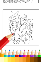 PokeMonster Coloring Book New - screenshot thumbnail 01