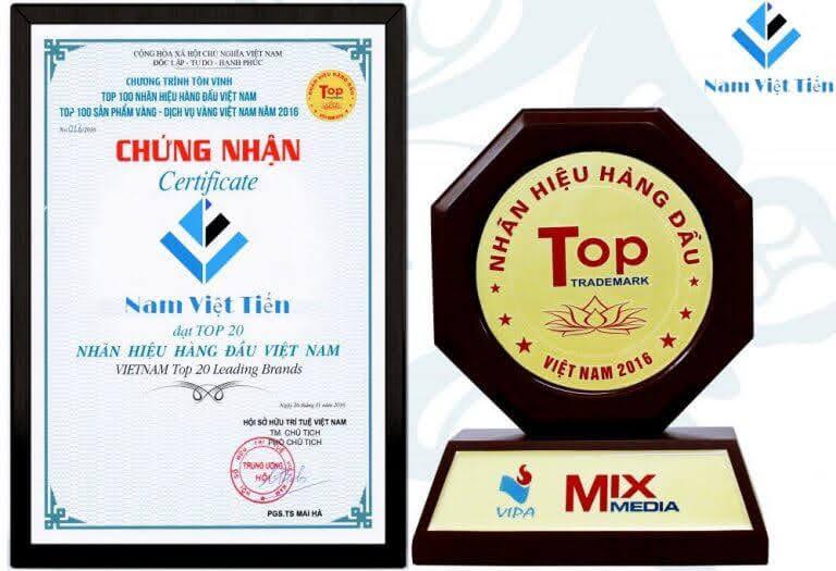 Cửa nhôm Nam Việt Tiến được chứng nhận chất lượng