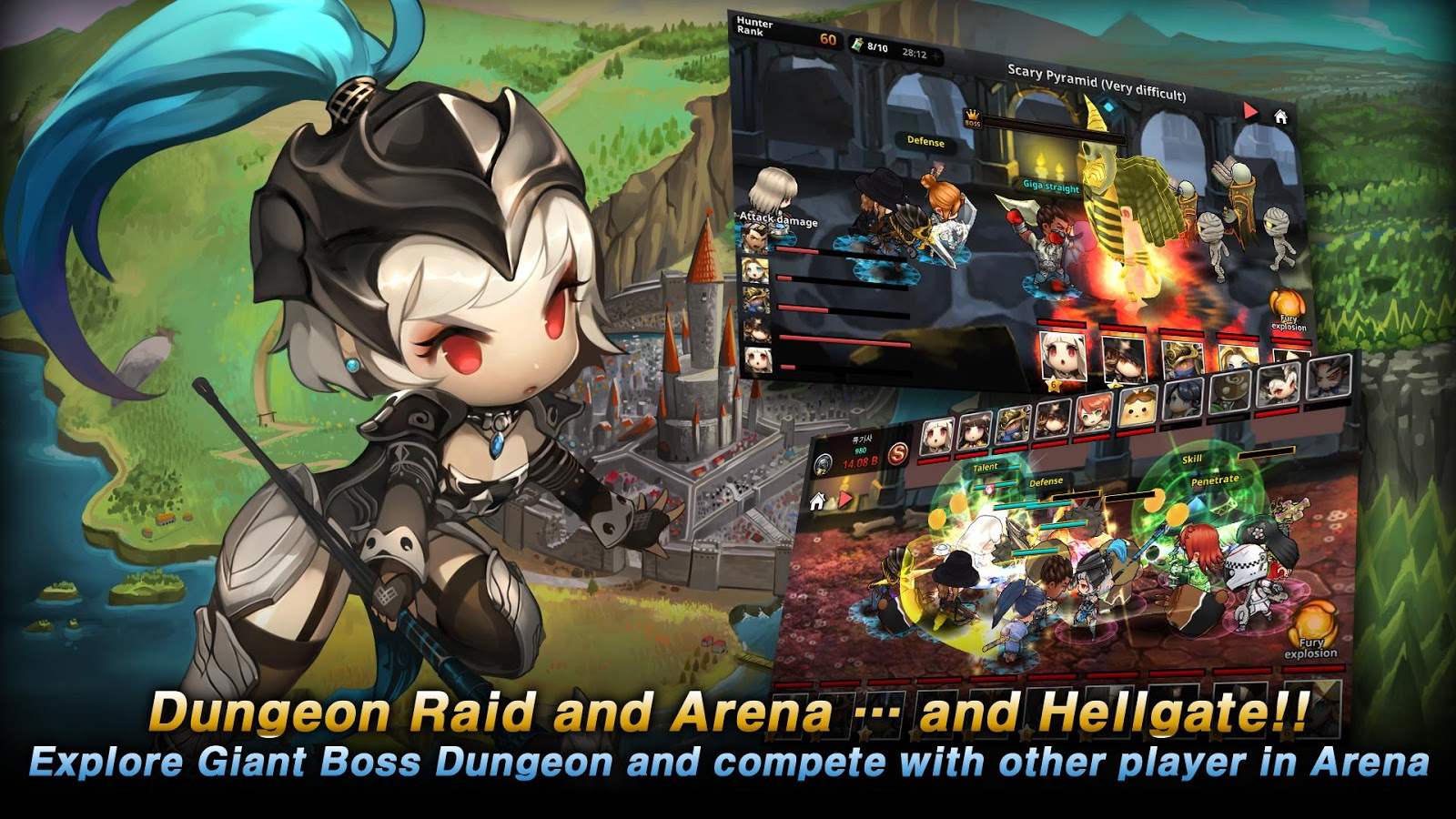 Dungeon Breaker Heroes- screenshot