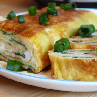 Stuffed Rolled Omelette - Mawaru Penguindrum