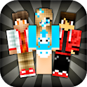 Skins for Minecraft PE (NEW SKINS) icon