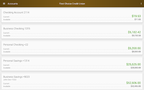 First Choice Credit Union screenshot 10
