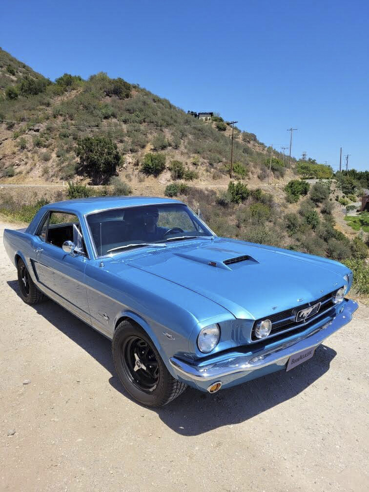 Ford Mustang Hire Santa Barbara