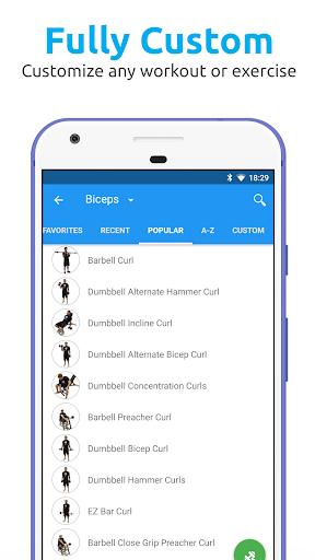 JEFIT Workout Tracker, Weight Lifting, Gym Log App screenshots 7