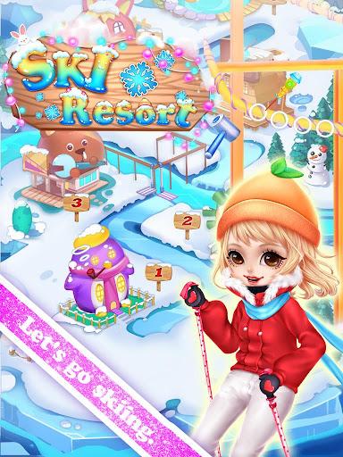 滑雪场冬季大冒险