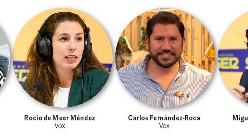 Seis representantes almerienses en el Congreso