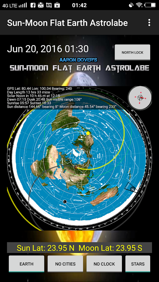 Sun moon flat earth astrolabe android apps on google play sun moon flat earth astrolabe screenshot gumiabroncs Gallery