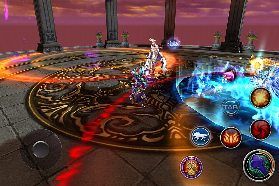 Forsaken World Mobile MMORPG- screenshot