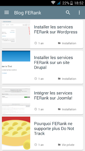 Blog FERank