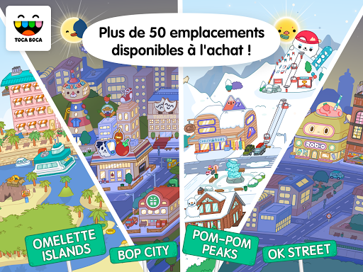 Toca Life: World  captures d'u00e9cran 2