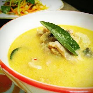Day 10-Tom Kha Gai with Raw Mango Salad