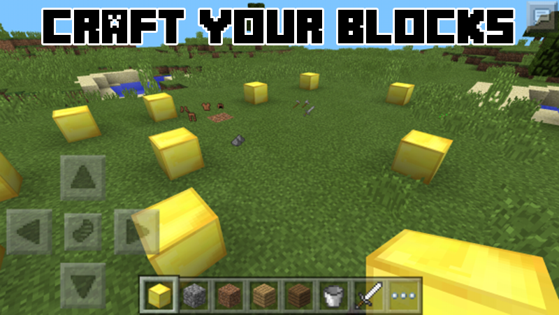 Lucky Block Mod MCPE- screenshot