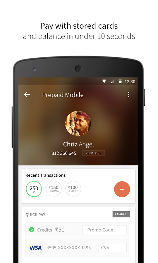 FreeCharge - Mobile Recharge- screenshot