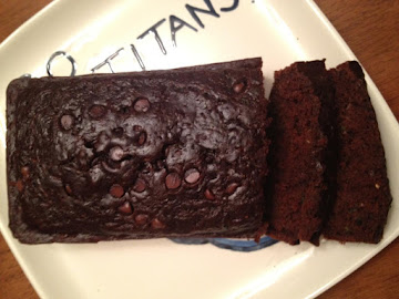Chocolatey Chocolate Zucchini Bread Recipe