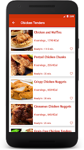 Download Chicken Recipes KFC: KFC Style Chicken Recipes for Windows Phone apk screenshot 3