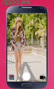 camera selfie oppo F5 & F3 - náhled
