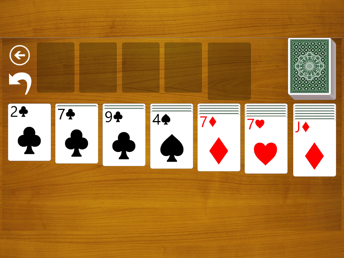 Solitaire Klondike Classic- screenshot