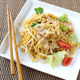 Healthy Copycat of Panda Express' Chow Mein.