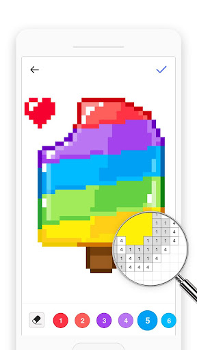 Bixel - Color by Number, Pixel Art  screenshots EasyGameCheats.pro 3