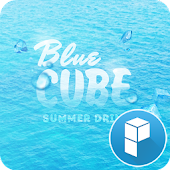 Blue Sea launcher theme