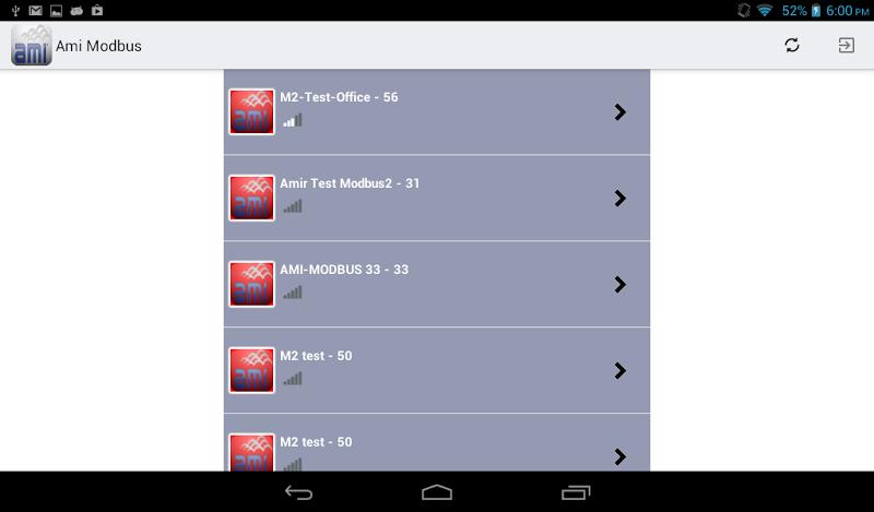 Скриншот AMI Modbus