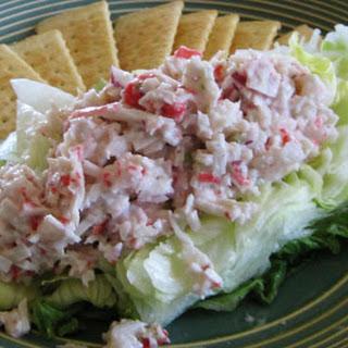 Seafood Salad Lettuce Boats.