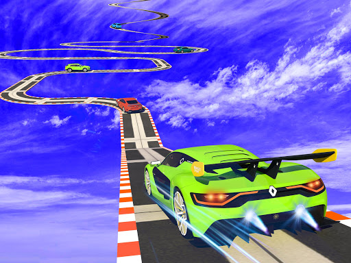 Car Fun Race Drive: Roues Mega Ramp Car Racing 3D  captures d'écran 1