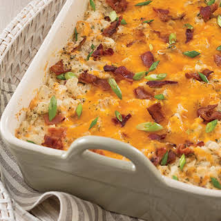 Chicken and Bacon Hash Brown Casserole.