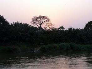 Photo: le fleuve Mono sépare le Bénin du Togo