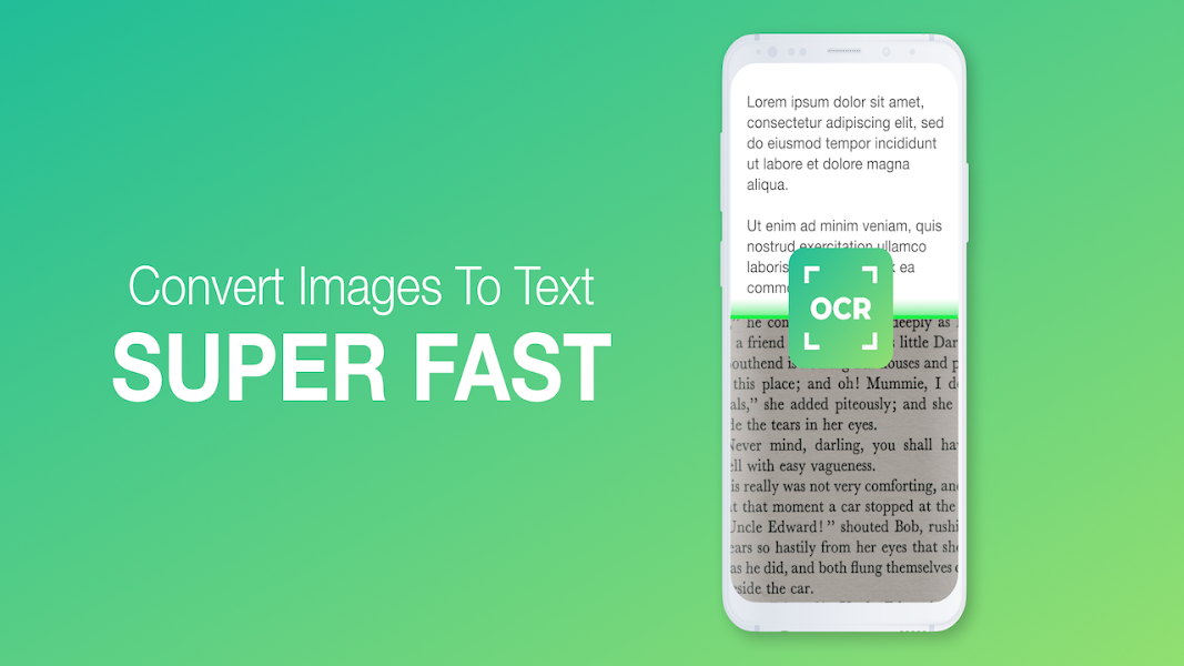OCR Text Scanner : Convert Image Text To Digital