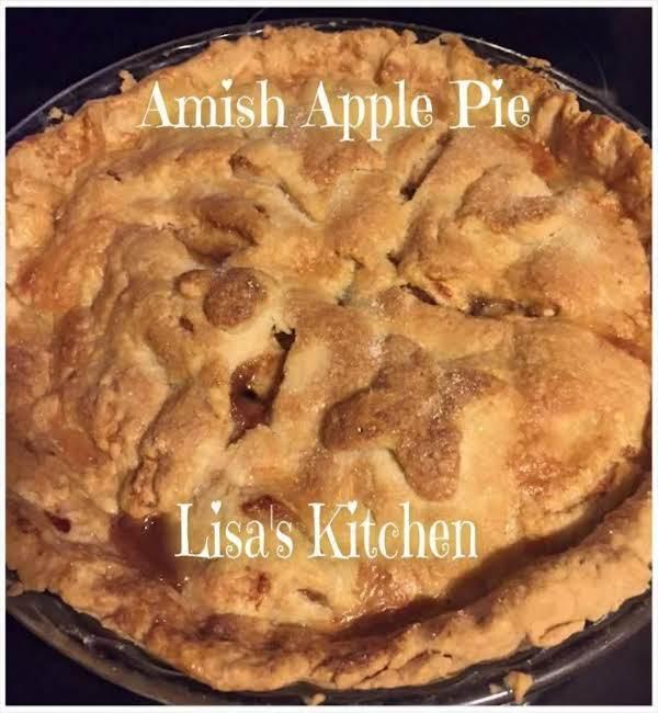 Amish Apple Pie Recipe