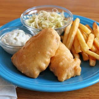 Gluten-Free Beer Battered Fish.