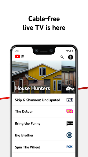 YouTube TV screenshot 1