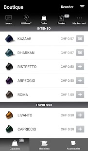 Nespresso- screenshot thumbnail