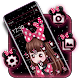 Cute Pink Girl Theme icon