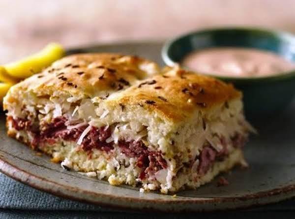 Baked Reuben Sandwich Recipe