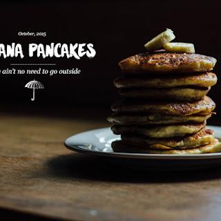 Banana Pancakes for Two.