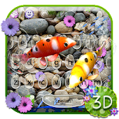Live Koi Fish Keyboard