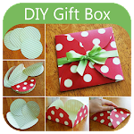 diy gift box - paper crafts Icon